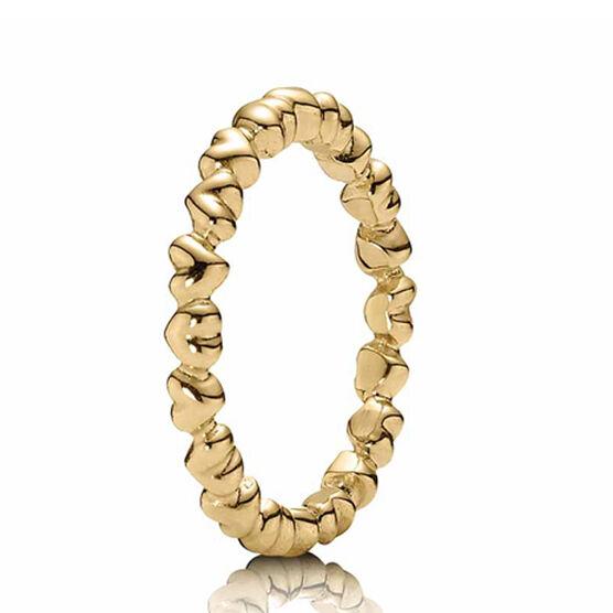 PANDORA Heart Ring 14K