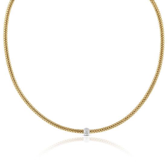 Roberto Coin Diamond Necklace 18K