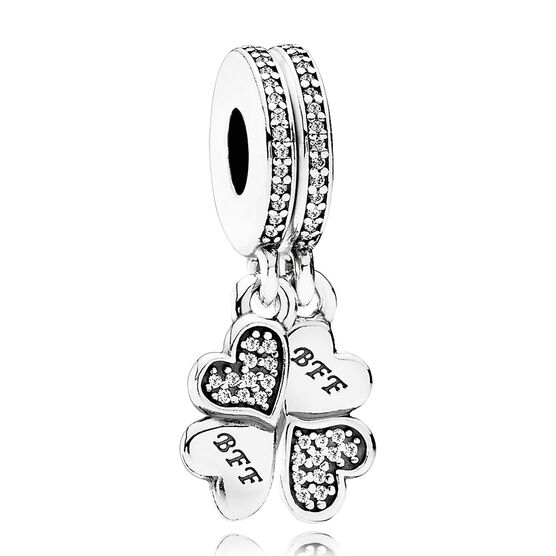 PANDORA Best Friends Forever CZ Charm