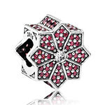 PANDORA Limited Edition Poinsettia CZ Charm