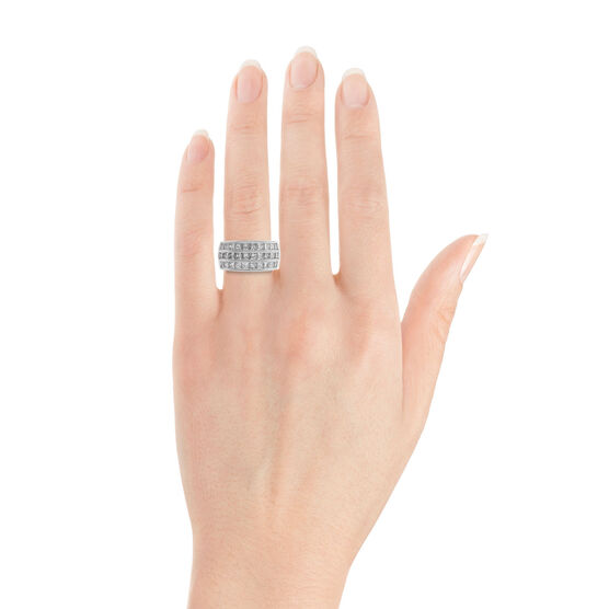 Princess Cut Diamond Ring 14K
