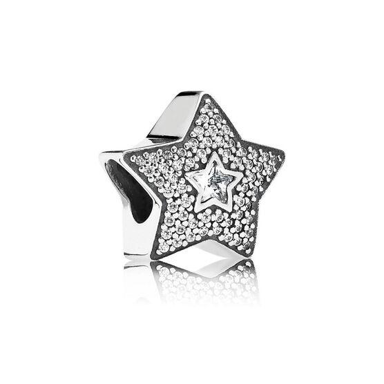 PANDORA Wishing Star CZ Charm