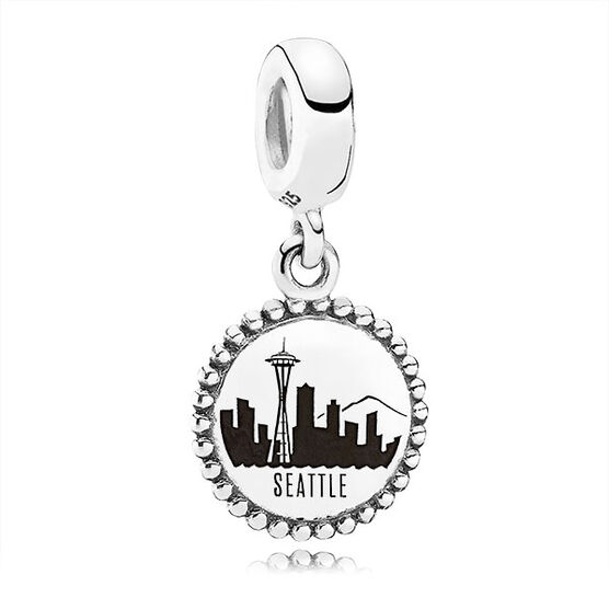 PANDORA Seattle Skyline Dangle Charm