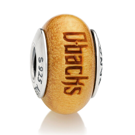 PANDORA Diamondbacks MLB Wood Charm