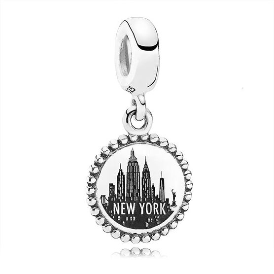 PANDORA New York Dangle Charm