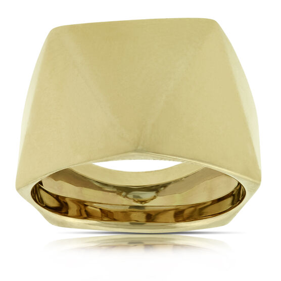 Faceted Ring 14K