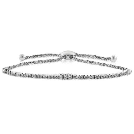 Bolo Diamond Bracelet 14K, 3/4 ctw.