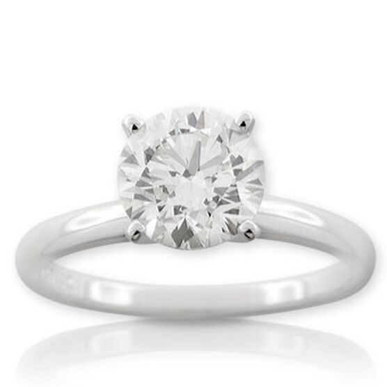 Forevermark Diamond Solitaire Ring 14K, 2 ct.