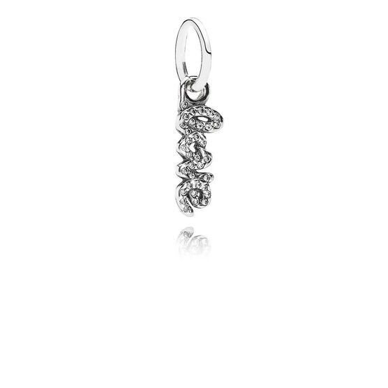 PANDORA Signature of Love Charm