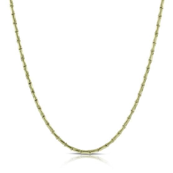 Toscano Stampato Link Necklace 14K