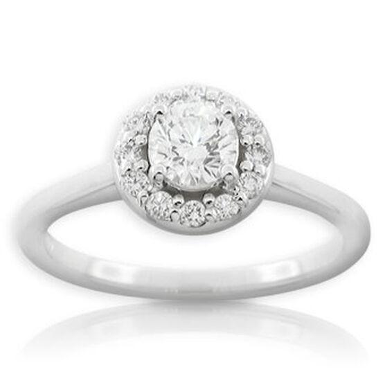 Forevermark Diamond Ring 14K, 1/2 ct. center