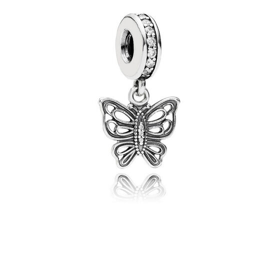 PANDORA Love Takes Flight Butterfly CZ Charm