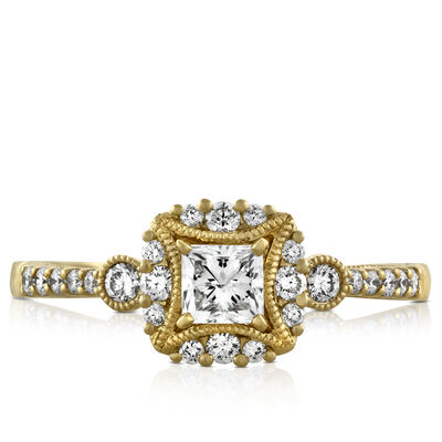 Ikuma Canadian Diamond Engagement Ring 14K, 5/8 ctw.