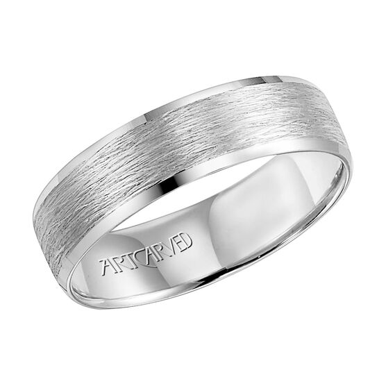 ArtCarved White Gold Band 14K