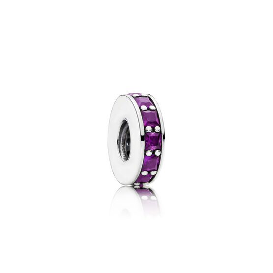 PANDORA Purple Eternity Spacer