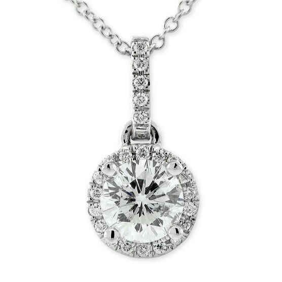 Ben Bridge Signature Diamond™ Pendant 14K
