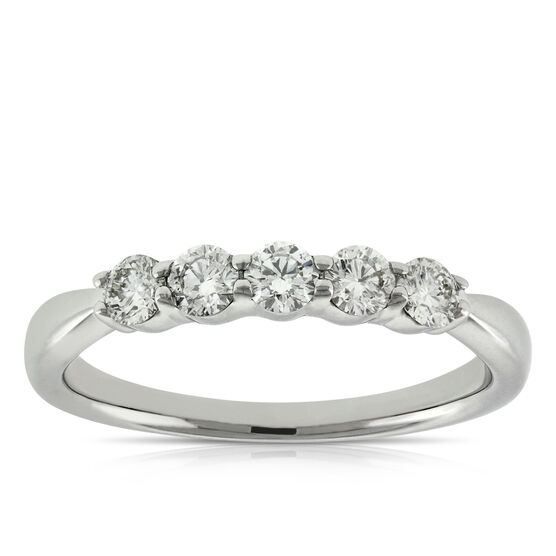 Diamond Band, 1/2 ctw. 14K