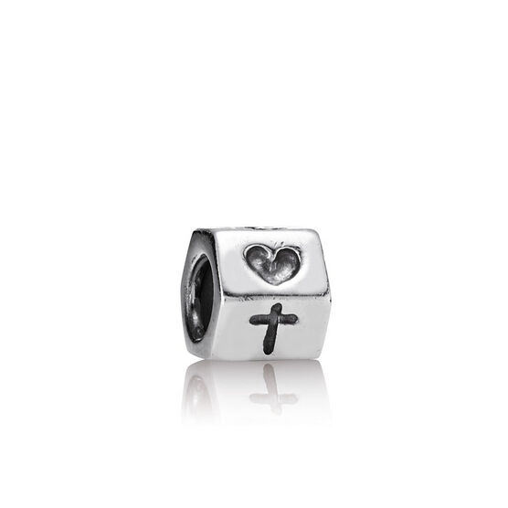 PANDORA Faith, Hope & Love Charm
