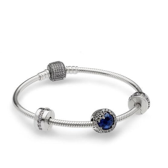 PANDORA Dazzling Snowflake Bracelet Gift Set