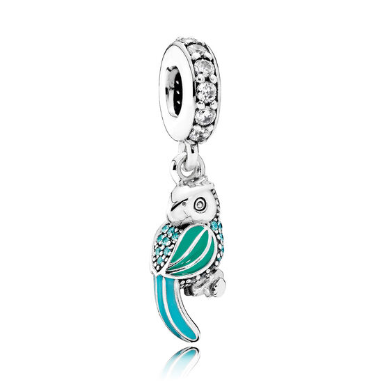 PANDORA Tropical Parrot Dangle Charm