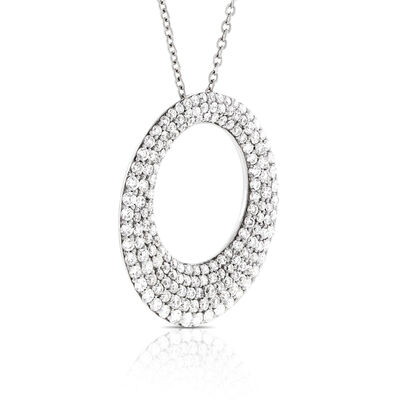 Roberto Coin Diamond Necklace 18K