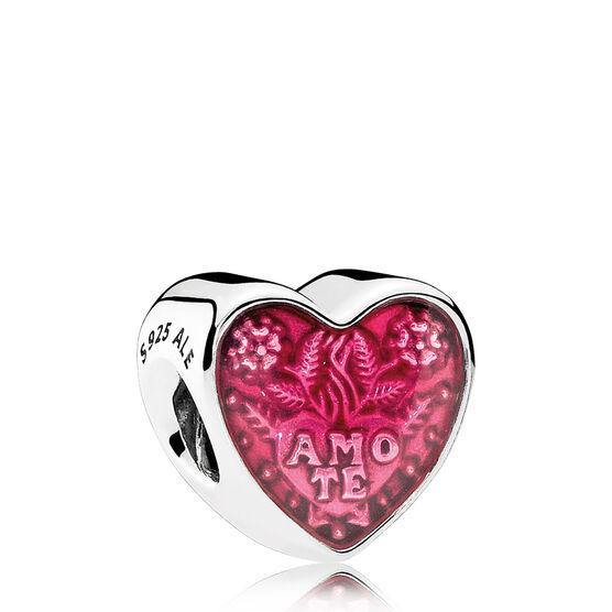 PANDORA Latin Love Heart Enamel Charm