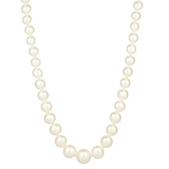 Freshwater Cultured Pearl Strand in Sterling Silver