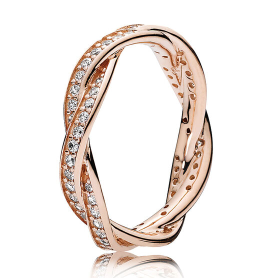 PANDORA Rose™ Twist of Fate Ring