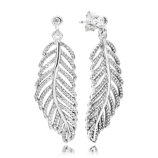 PANDORA Light as a Feather Earrings
