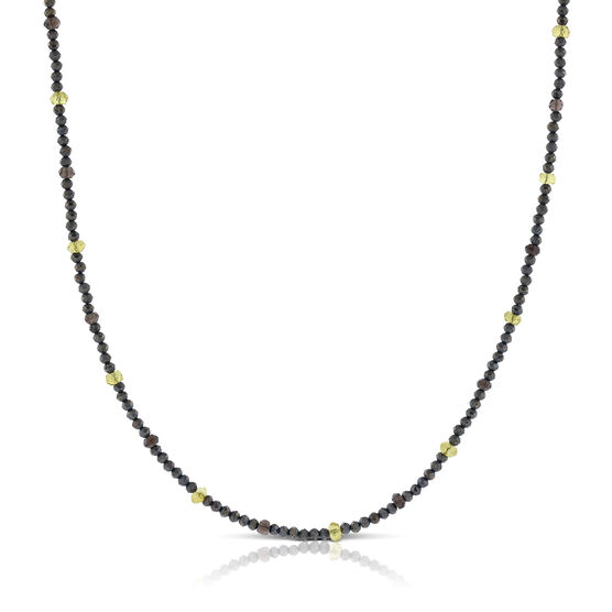 Lisa Bridge Pyrite & Citrine Necklace