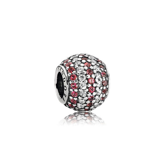 PANDORA Red Nautical Pave Lights Charm