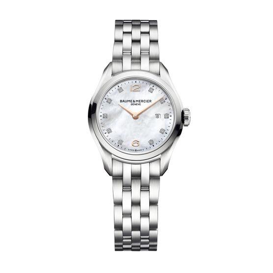 Baume & Mercier CLIFTON 10176 Ladies Watch, 30mm