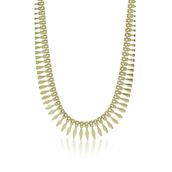 Toscano Cleopatra Collar Necklace 14K