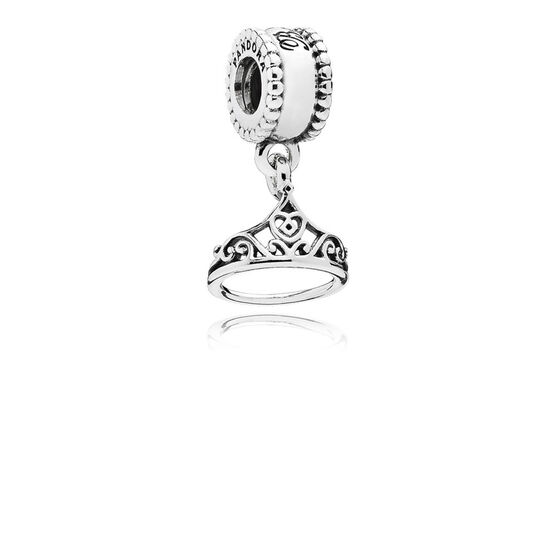 PANDORA Disney Belle's Tiara Charm