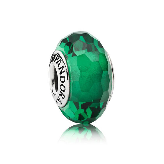 PANDORA Fascinating Green Charm