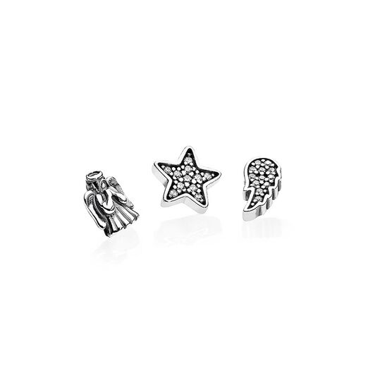 Pandora Celestial Petites CZ Locket Elements