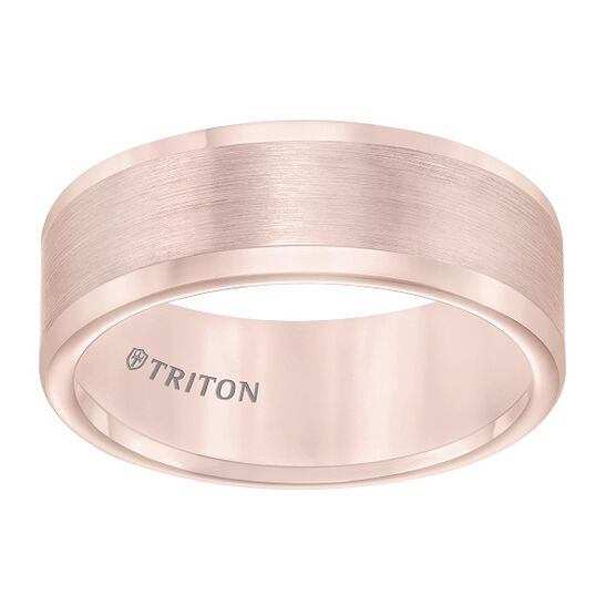 TRITON Rose Tungsten Carbide Band