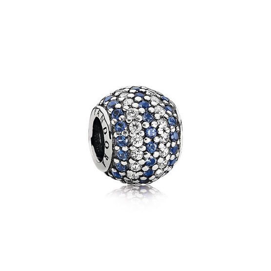 PANDORA Blue Nautical Pave Lights Charm