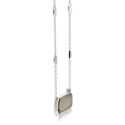 Lisa Bridge Jasper & Smoky Quartz Necklace