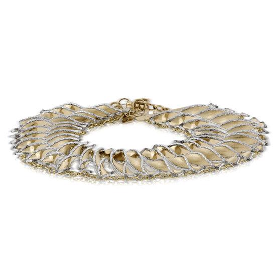 Toscano Twisted Cleopatra Bracelet 14K