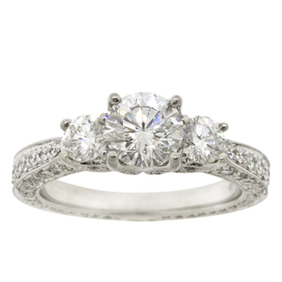Ben Bridge Signature Diamond™ Ring in Platinum
