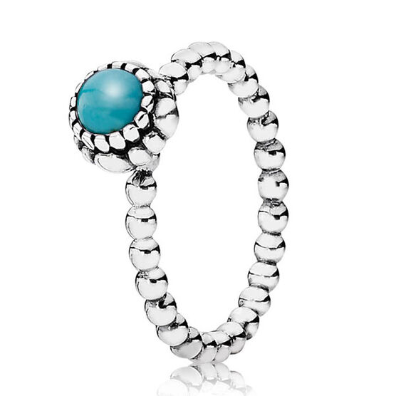 PANDORA Birthday Blooms December Ring