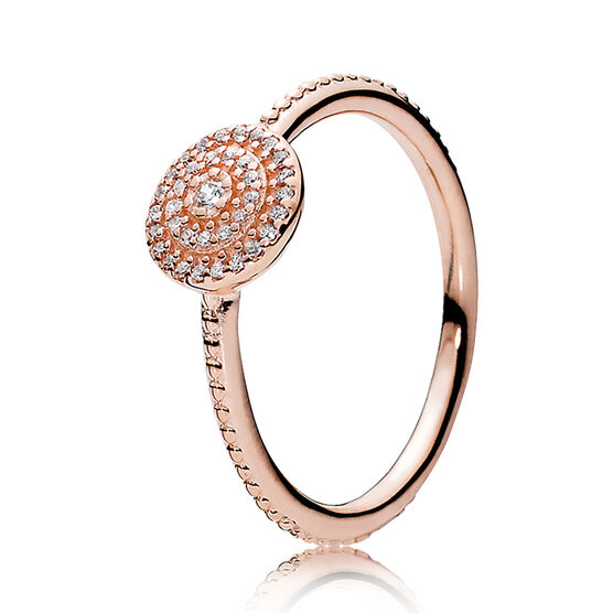 Radiant Elegance, PANDORA Rose™  CZ Ring