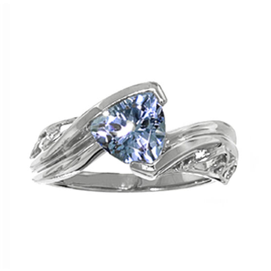 Aquamarine Ring 14K