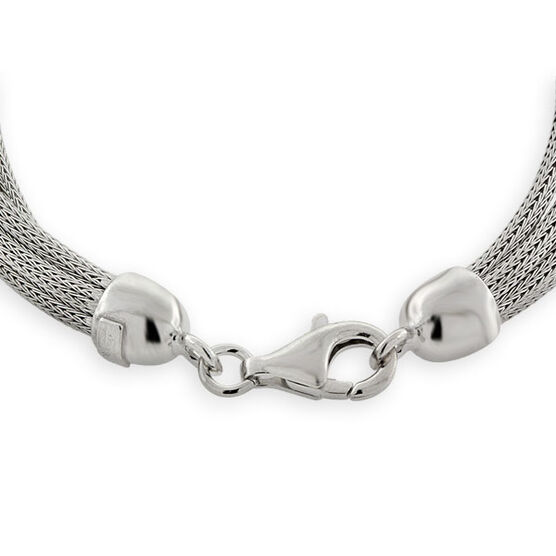 Sterling Silver Bracelet Strand Mesh