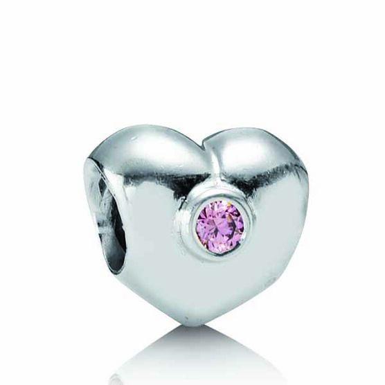 PANDORA Heart Charm RETIRED