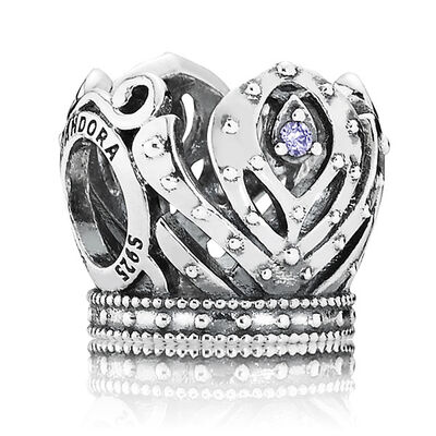 PANDORA Disney Anna's Crown Charm