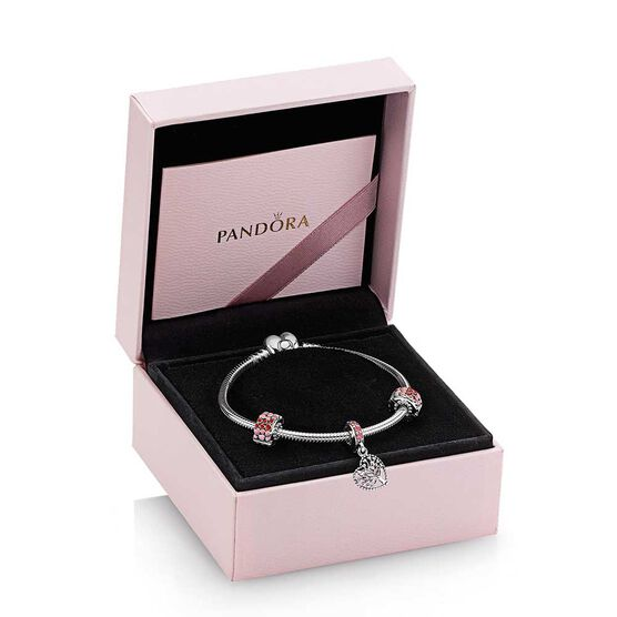 PANDORA Tree of Hearts Bracelet Gift Set