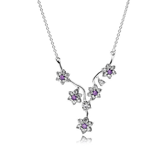 PANDORA Forget Me Not Necklace