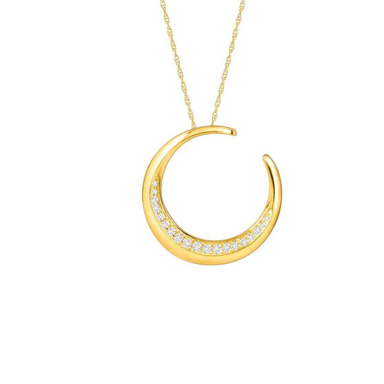 HOPECIRCLE Diamond Pendant 14K, .18 ctw.